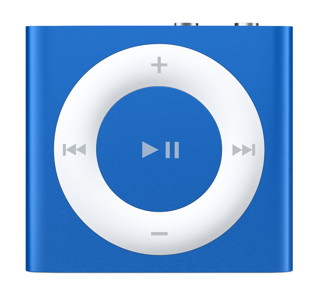 how to know battery percentage on ipod shuffle